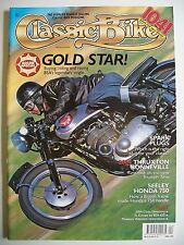 Classic Bike Magazine. April, 2004. Gold Star. Buying BSA's legendary single.