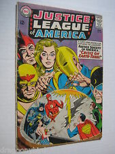 Vintage Old Collectible Justice League Dc Comic Book Super Heros #29 Vg