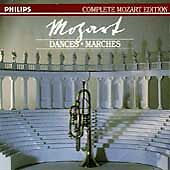 Mozart: Dances; Marches (CD, Nov-1990, 6 Discs, Philips)