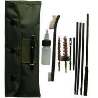 Hunting .30cal 7.62mm Rifle Gun Cleaning Kit Green Nylon Storage Pouch