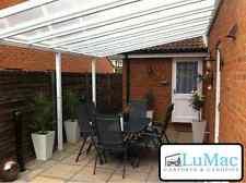 Fixed Aluminium carport patio canopy garden cover shelter leanto conservatory & Patio Carport Canopies for sale | eBay