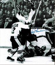 Paul Henderson Team Canada 1972 Summit Series Signed 8x10 Photo - 70141