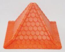 Playmobil Castle Top Orange Red Replacement Part Piece #Q38 Vintage