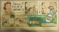 Super Suds Ad: I Felt Sorry For His Wife, Till I Met Her ! 1940's