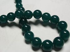 "Green Beryl Gemstone Round Loose Beads 15""8mm"