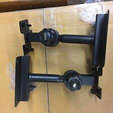 Sks-8003 speaker stand Dual low profile heavy duty wall mount bracket stands 1 p