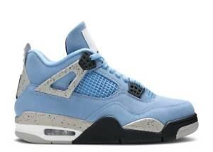 Nike Air Jordan 4 Retro PS University Blue Basketball Shoes 3Y White IN HAND
