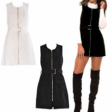 Unbranded Crew Neck Casual Sleeveless Dresses for Women
