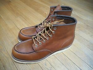 Red Wing Heritage Moc Toe Boot 875 UK 11 (US 12)- fantastic condition