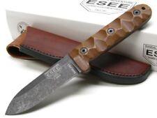 ESEE ESPR4BO Brown Micarta Camp Lore PR-4 Straight Fixed Blade Knife + Sheath