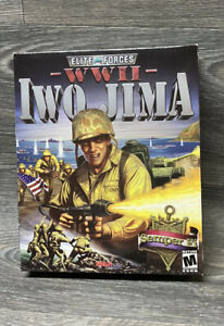 Elite Forces World War II Combat: Iwo Jima (2006 FPS PC Video Game) CIB