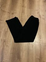 Chico's Travelers Size 1 Short Elastic Waist Black Pull On Casual Pants