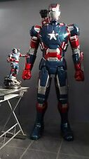 IRON PATRIOT IRON MAN CUSTOM STATUE LIFE SIZE 1/1 resin toy kit NOT XM SIDESHOW