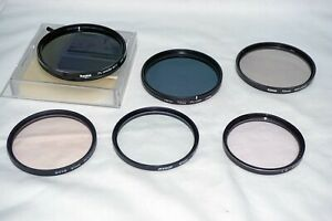JOB LOT 6  LARGE FILTERS 62/67/72/77MM