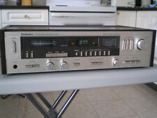 Vintage Technics Quartz Synthesizer SA-225 AM/FM stereo receiver, wood case