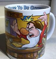 XL GRUMPY Dwarf Disney Coffee Mug