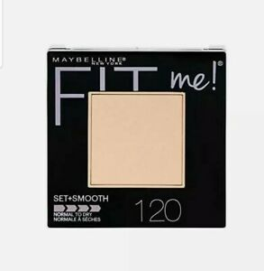 🌷🌷🌷Maybelline Fit Me Smooth Pressed Powder Foundation🌷120 Classic Ivory🌷🌷