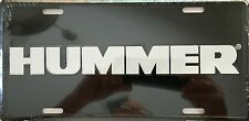 HUMMER...(Black) ..Premium Embossed License Plate (LP-1109-178)