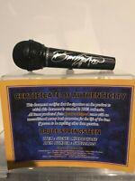 Microfono BRUCE SPRINGSTEEN Autografato Signed Autografato Signed Microphone