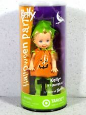 NIB BARBIE DOLL 2003 KELLY HALLOWEEN PARTY PUMPKIN