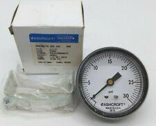 Ashcroft 25W1001TH 02B XUC Pressure Gauge