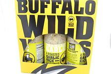 Buffalo Wild Wings Sauce -PARMESAN GARLIC  3 Bottles 12 0Z EACH