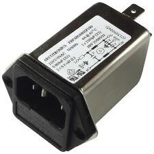 KEMET FBPAB2680ZF100 Netzfilter 250V AC 6A IEC Inlet-Filter Fuseholder 855835