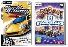 world racing 2 & f1 race stars   new&sealed