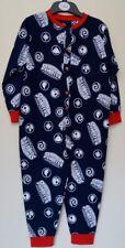 Boys NEW Dark Blue  SKYLANDERS  GIANTS Pj's Pyjamas LONG All in One  3 / 4 years