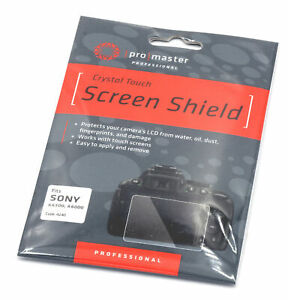 Promaster Crystal Touch Screen Shield #4240 for Sony A6300 and A6000 bodies