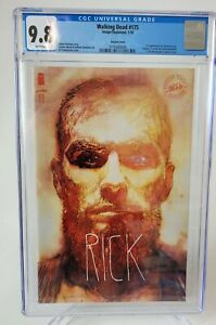 WALKING DEAD #175 CGC 9.8 GRADED IMAGE 2018 BILL SIENKIEWICZ VARIANT COVER