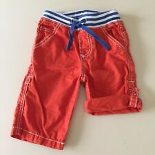Mini Boden Awesome Baby Boys Orange Pants/Shorts 3-6 Months. Great! So Comfy