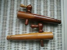 More details for vintage czech wooden barrel taps marked no. 7 czechoslovakia breweriana