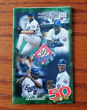 1998  MONTREAL EXPOS BASEBALL MLB SCHEDULE SKED