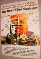 A1.Filmplakat ,DIE BRÜCKE VON ARNHEIM, DIRK BOGARDE,JAMES CAAN,M.CAINE