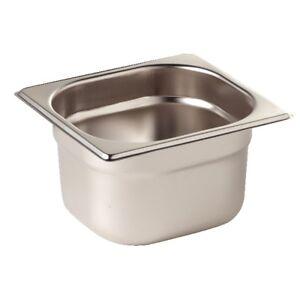 Gastronomie GN Behälter 1/6 Gastronorm alle Tiefen 20 - 200 mm Edelstahl behälte