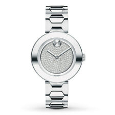 Movado 3600567 Bold 32mm Women's Crystal Pave Stainless Steel Watch