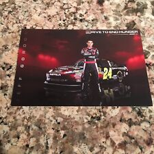 Jeff Gordon 2011 AARP Drive to End Hunger Hero Card