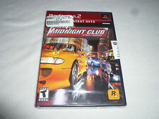 BRAND NEW FACTORY SEALED PLAYSTATION 2 GAME MIDNIGHT CLUB STREET RACING PS2 NFS