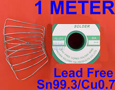 Lead Free Solder 1.2mm 1m RHOS 99.3Sn/0.7Cu for Soldering iron station RC car