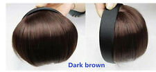 Pretty Girls In Front Hair Bang Fringe Hair Extension head band natural straight