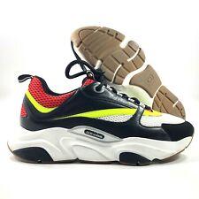 Dior B22 Sneaker Black Red Yellow White Men's 44