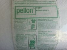 """Pellon lofty fusible fleece for apparel and crafts, 45"""", Bty,#987F, made in Usa."""