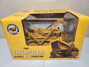 Caterpillar D4 2T w/ LeTourneau Blade & Winch SpecCast 1:16 Scale #CUST1432 New!
