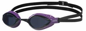Arena Airspeed Swimming Goggles - Smoke/Purple