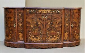 SIDEBOARD WITH INLAYS IN DUTCH STYLE