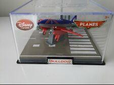 Disney Planes Exclusive  BULLDOG  Die Cast Vehicle 1:43 With Display Case