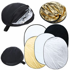 150CMX200CM 5-IN-1 MULTI COLLAPSIBLE REFLECTOR PORTABLE STUDIO LIGHT FLASH DISC