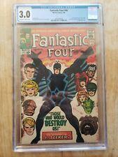 Marvel Comics Fantastic Four 46 CGC 3.0 Stan Lee Jack Kirby