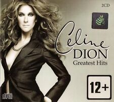 Celine Dion Greatest Hits 2CD Set DigiPak 34 Tracks SILVER Cover
